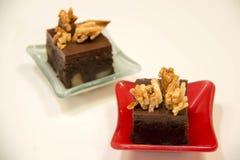 Торты пирожного шоколада мини Стоковое Изображение RF
