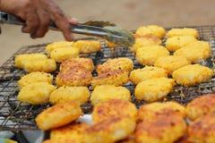 Торты риса в Азии - еде Азии стоковое фото rf
