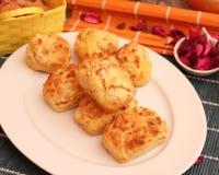 Торты с беконом и сыром стоковые изображения rf