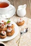 Торты с mousse шоколада Стоковое Изображение RF
