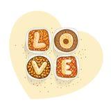 Торты для полюбленное одного Стоковые Фото