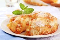 торт абрикоса стоковые фото