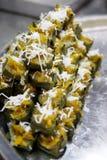 Торт банана с тыквой Стоковые Фото