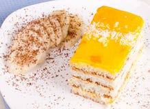 Торт банана Стоковые Изображения RF