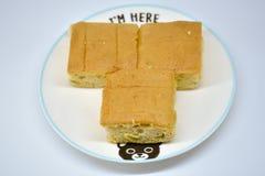 Торт банана Стоковая Фотография RF