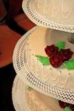 Торт венчания стоковые изображения rf