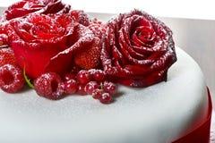 Торт венчания Стоковая Фотография