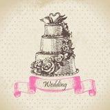 Торт венчания Стоковые Фотографии RF