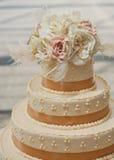 Торт венчания Стоковая Фотография RF