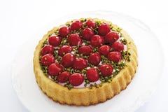 Торт вишни, конец-вверх Стоковые Фотографии RF