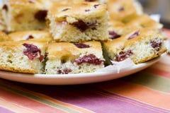 Торт вишни Стоковое фото RF