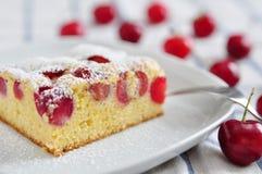 Торт вишни Стоковое Фото