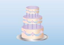 торт вкусный Иллюстрация вектора