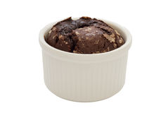 Торт вулкана. Стоковая Фотография