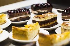 Торт в плите Стоковое Фото