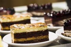 Торт в плите Стоковые Изображения