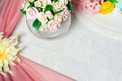 Торт в форме цветков Стоковая Фотография