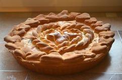 Торт влюбленности Стоковое фото RF