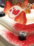 Торт голубики японский стоковая фотография rf