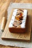 Торт грецкого ореха сливы Стоковые Фото