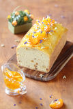 Торт грецкого ореха с Tangerines и оранжевым вареньем Стоковое Изображение