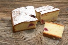 Торт губки вишни Стоковые Фотографии RF