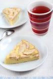Торт губки с яблоком Стоковые Фотографии RF