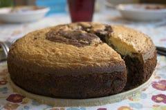 Торт губки шоколада Стоковые Изображения RF