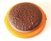 Торт губки шоколада Стоковое Фото