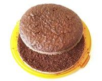 Торт губки шоколада Стоковая Фотография
