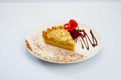 Торт десерта яблочного пирога Стоковые Изображения