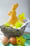 Торт зайчика пасхи Стоковые Фотографии RF