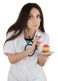 Торт здоровый Стоковое Изображение
