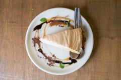 Торт лимона Стоковая Фотография
