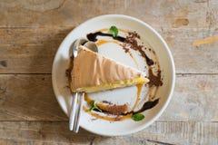 Торт лимона Стоковые Изображения