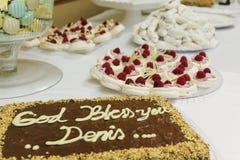 Торт и печенья Стоковые Изображения RF