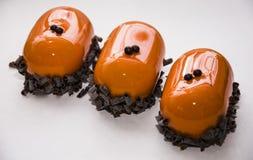 Торт карамельки Glyassazh Стоковое фото RF