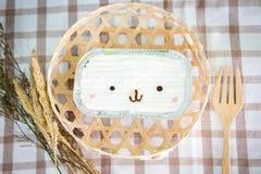Торт кокоса на деревянной предпосылке Стоковое Фото