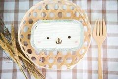 Торт кокоса на деревянной предпосылке Стоковое Изображение