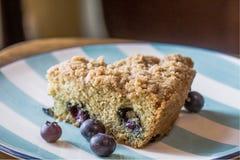 Торт кофе голубики Стоковые Изображения