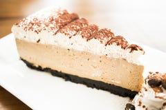 Торт кофе стоковая фотография