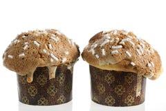 Торт Кристмас пар типичный от Милана (Италия) Стоковые Изображения