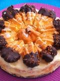 Торт круассана Стоковое Изображение RF