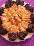 Торт круассана Стоковое Фото