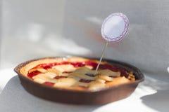 Торт клубники Стоковые Фотографии RF