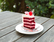 Торт клубники стоковое фото rf
