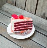 Торт клубники Стоковое Изображение