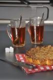 Торт клюквы еды Стоковое Фото