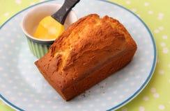 Торт лимона Стоковая Фотография RF