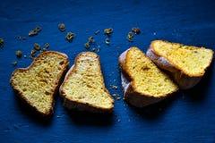 Торт лимона Bundt Стоковые Изображения
